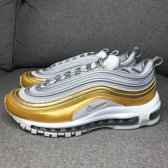 Nike W Air Max 97 SE Damen Sneaker schwarz silber gold